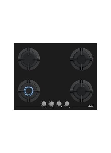 Simfer Simfer XXL İkili Cam Ocak + Davumbaz Ankastre Set Renkli